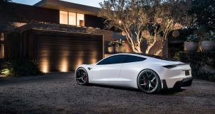 Tesla viser oss litt mer av den ville Roadster. (Alle foto: Tesla)