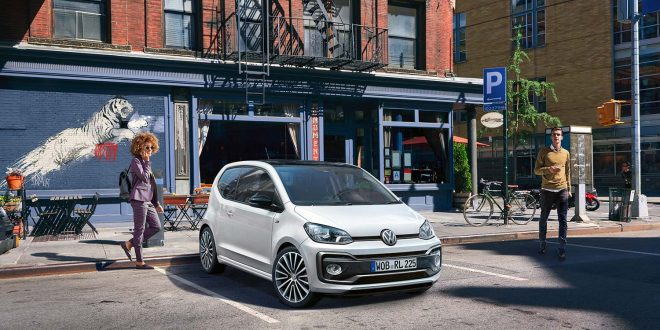 Volkswagen har endelig poppet opp også minstemannn i familien, Up. (Foto: VW)