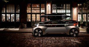 Slik ser framtidens bil ut. Og ja, den er selvkjørende. (Alle foto: Volvo)
