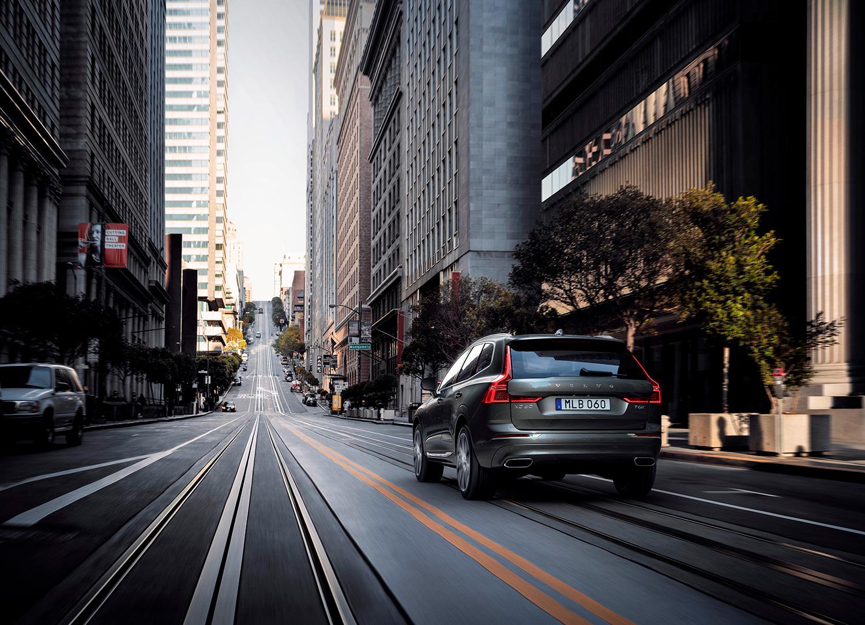 Volvo XC60 drar sammen med storesøster XC90 salget i USA. (Foto: Volvo)