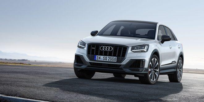 Audi kpmmer nå med en potent versjon av Q2, SQ2. (Foto: Audi)