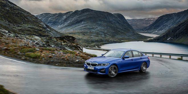BMW 3-serien kommer i ny generasjon. Her fotografert i Møre og Romsdal. (Alle foto: BMW)