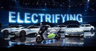 BMW skal gjøre de elektriske kjøretøyene sine enda grønnere. (Foto: BMW)