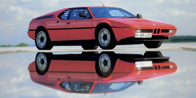 Det er 40 år siden denne legenden kom, BMW M1. (Alle foto: BMW)