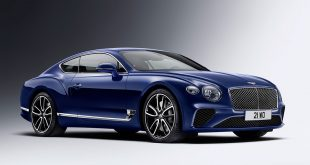Bentley Continental GT er en imponerende bil. (Alle foto: Bentley)