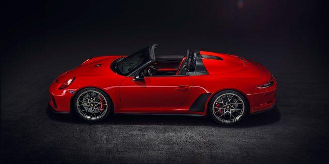 Den er vakker, Porsche 911 Speedster. (Alle foto: Porsche)