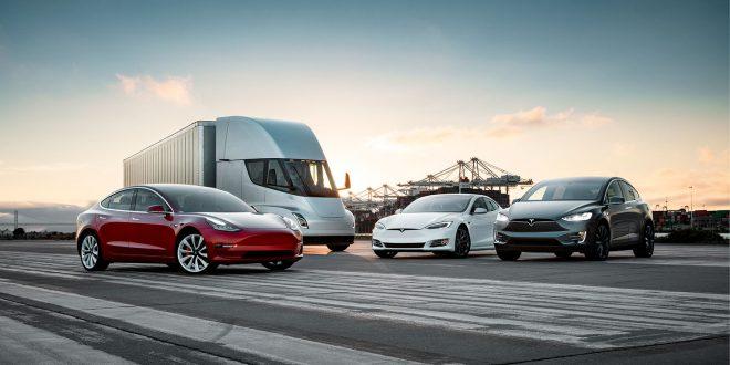 Tesla har falt ut av listen over de 100 mest verdifulle selskapene i verden. (Foto: Tesla)