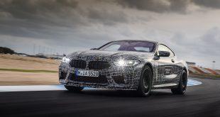 Her er BMW M8 Coupé. (Alle foto: BMW)