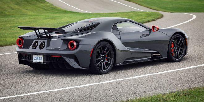 Ford GT kommer nå som karbonversjon. (Alle foto: Ford)