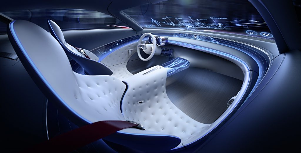 Å sitte i denne bilen er virkelig komfort. Virkelig.