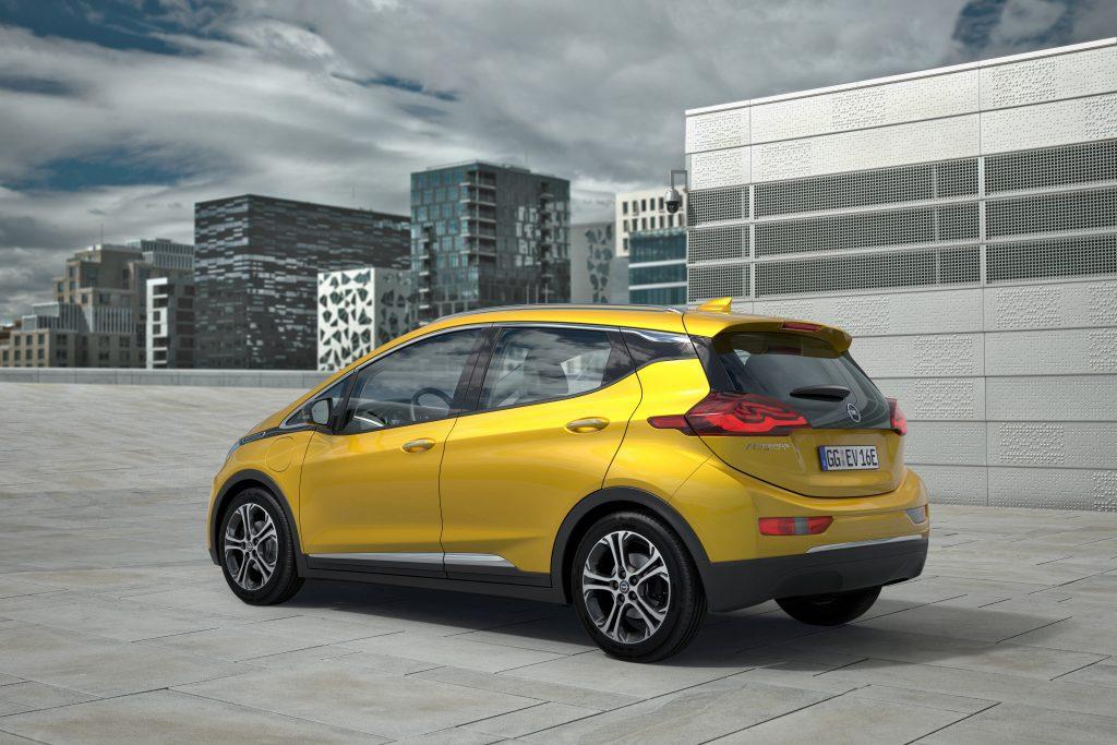 Ampera-e vil bli avduket på Paris Motor Show.