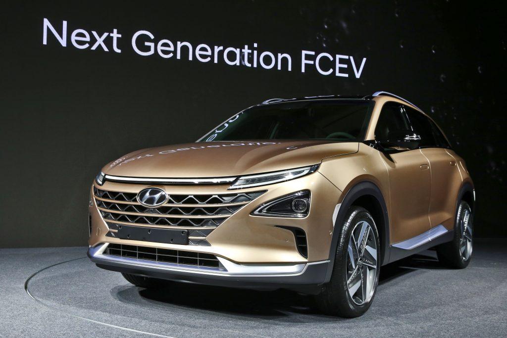 Hyundais navnløse SUV har et moderne design.