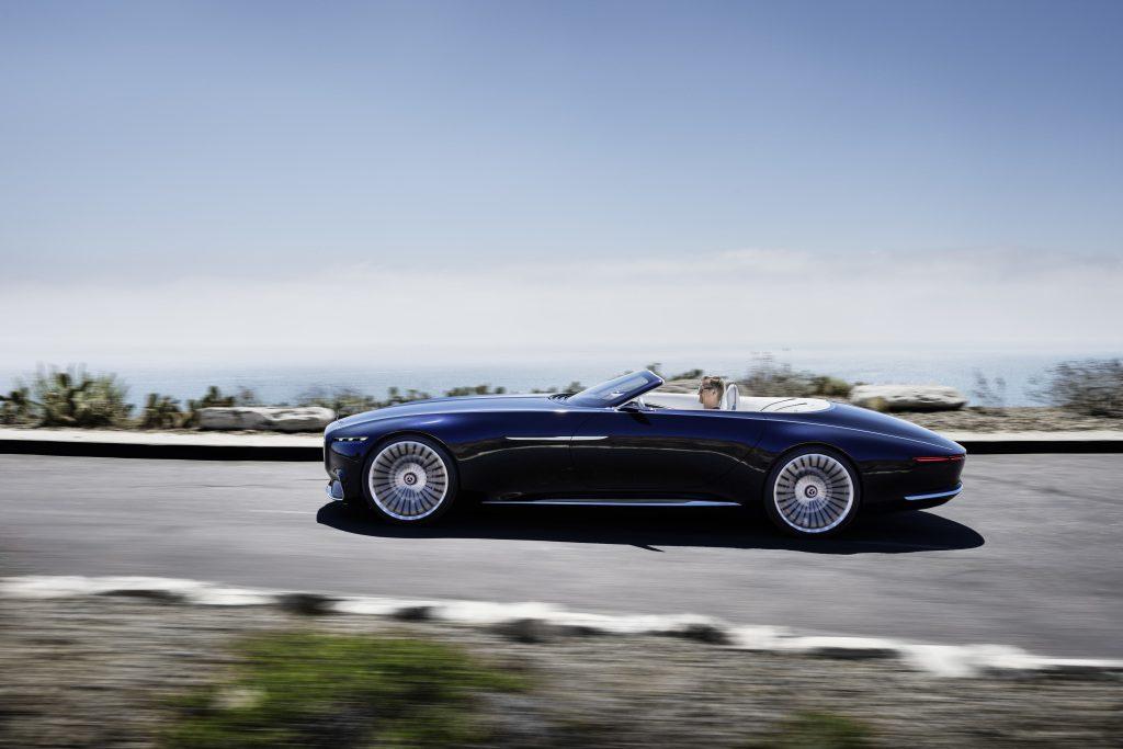 Vision-modellene til Mercedes skal vise litt av framtiden.