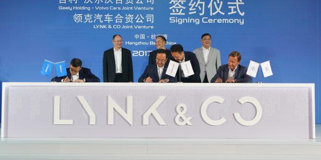 Fredag signerte Volvo Cars og Geely Holding en avtale om å dele teknologi.