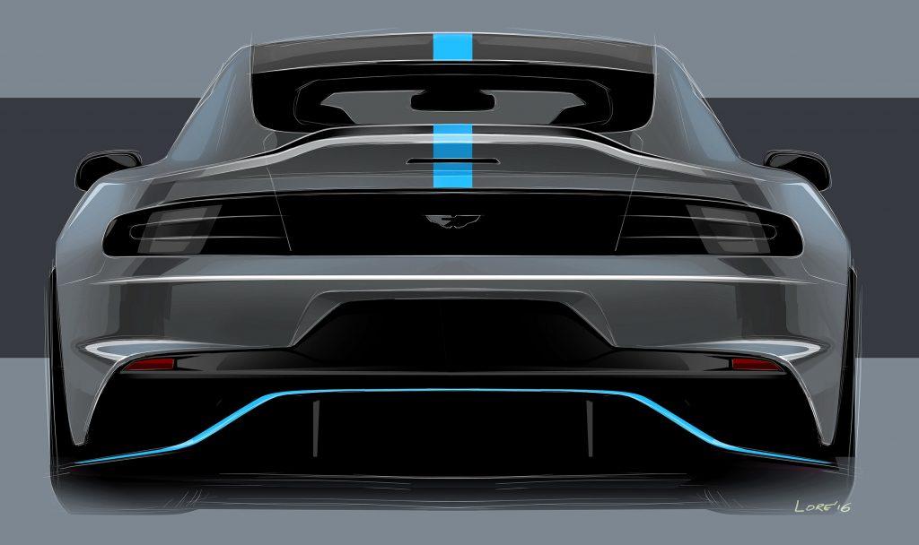Den ser absolutt ut som en Aston Martin. Heldigvis.