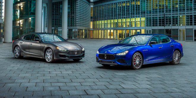 Maserati har oppgradert Ghibli med to nye valg, GranLusso og GranSport. (Foto: Maserati)