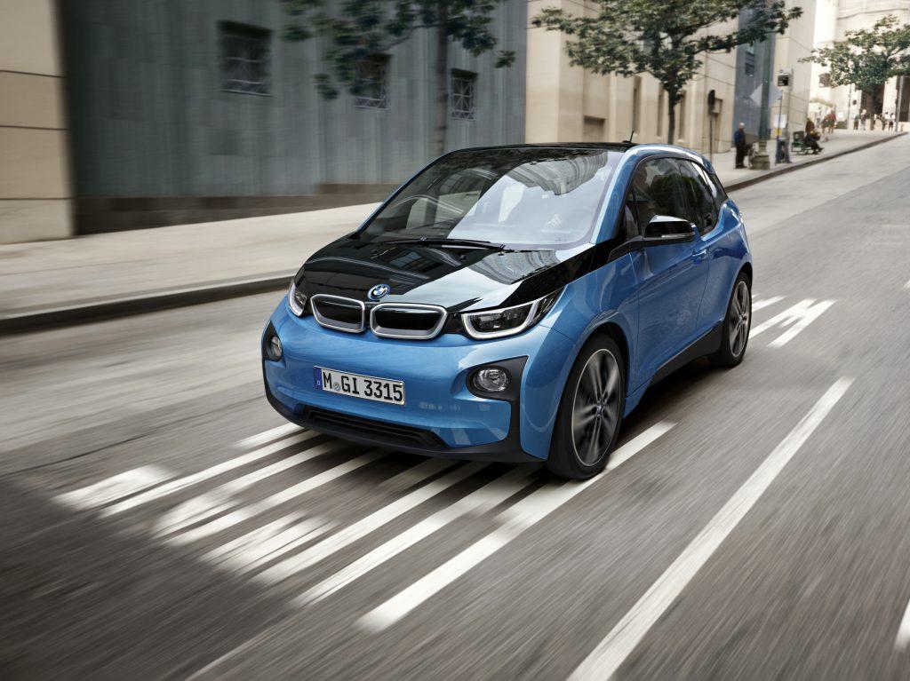 Finansdirektøren i nederlandske Shell kjører en BMW i3.