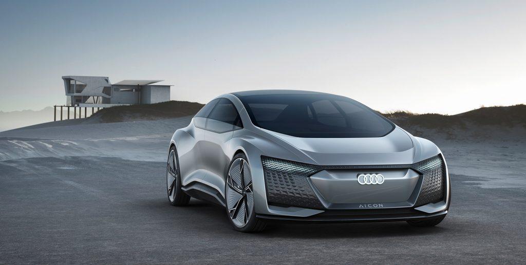 Audi viser oss framtiden med Aicon, en selvkjørende elbil. (Alle foto: Audi)