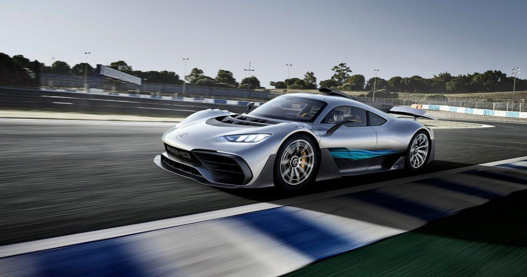 Mercedes-AMG Project One er en gatelovlig formel 1-bil. (Alle foto: Mercedes)