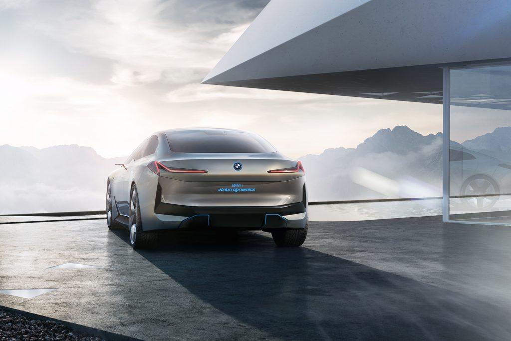 Elegant, ikke sant? BMW i Visiomn Dynamics er det enkle navnet på denne konsepten. (Foto: BMW)