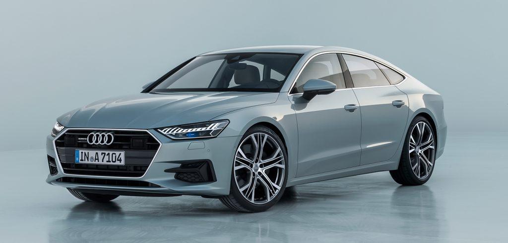 Audi A7 Sportback kommer i ny generasjon. (Alle foto: Audi)