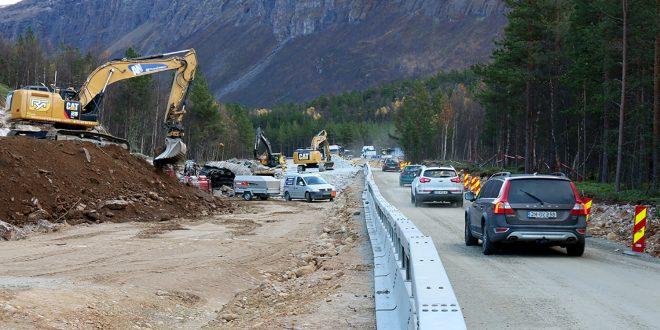 På denne strekningen skal Statens vegvesen lytte på trafikantene. (Foto: Statemns vegvesen)