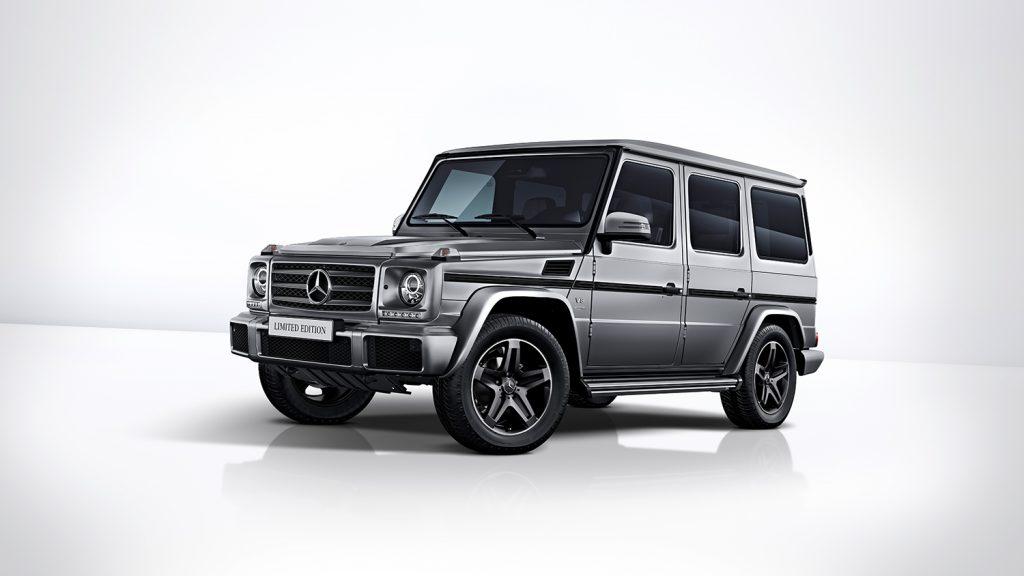 G 500 kommer i en slags platinums kontrastfarge,