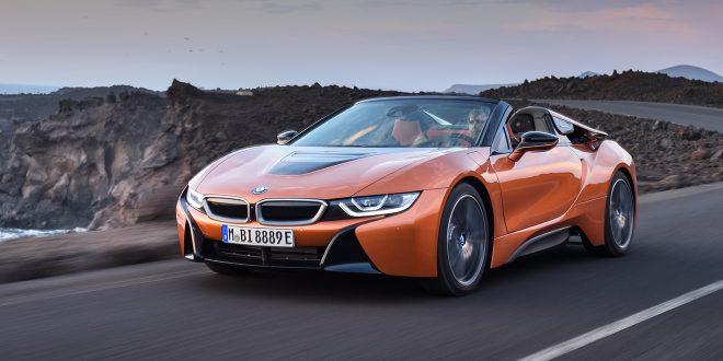 BMW har lansert BMW i8 Roadster. (Alle foto: BMW)
