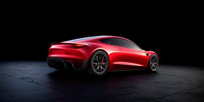 Dette er den nye sportsbilen til Tesla. Andre generasjon Roadster. (Alle foto: Tesla)