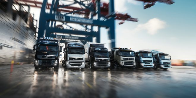 Geely har kjøpt seg inn i AB Volvo som blant annet lager lastebiler. (Foto: Volvo)