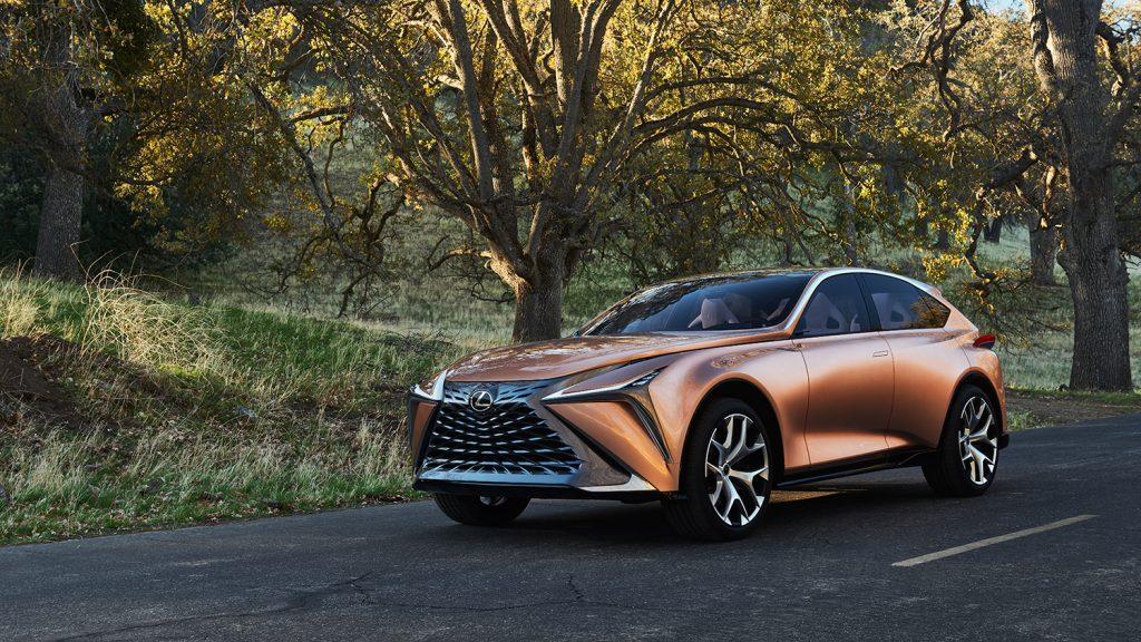 Slik ser den ut, konseptmodellen Lexus LF-1 Limitless. (Alle foto: Toyota)