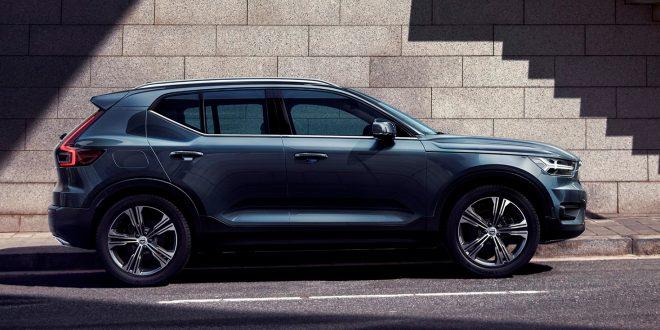 Nye XC40 får Volvos aller første mtor med tre sylindre. (Alle foto: Volvo)