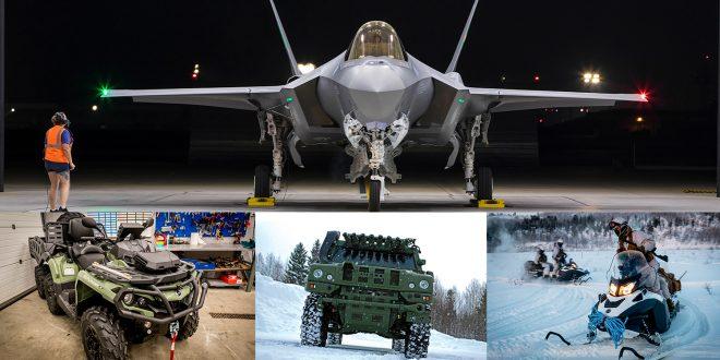 Mer enn et kinderegg. Forsvaret har fått en rekke nye kjøretøy (og fly).