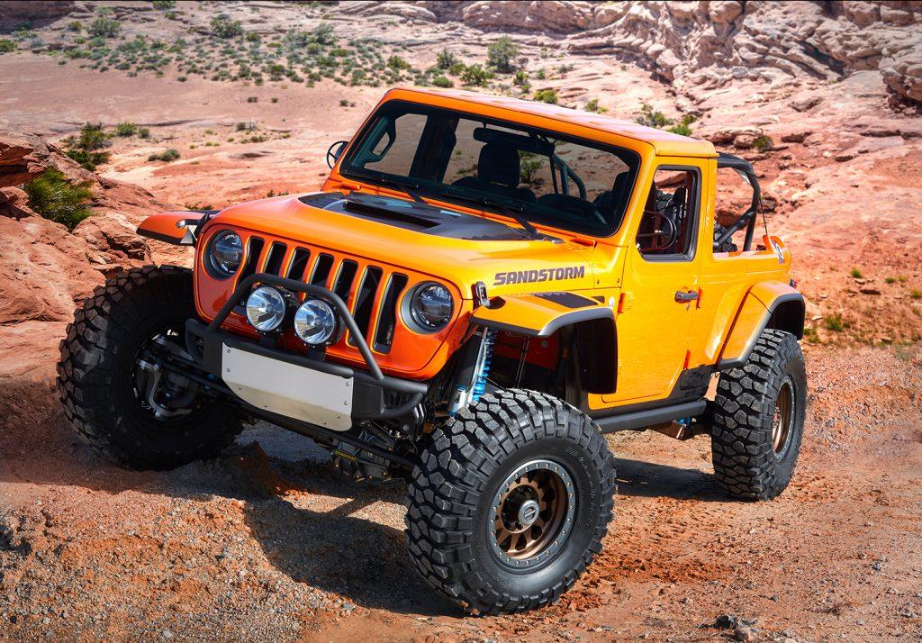 Jeep Sandstorm Concept.