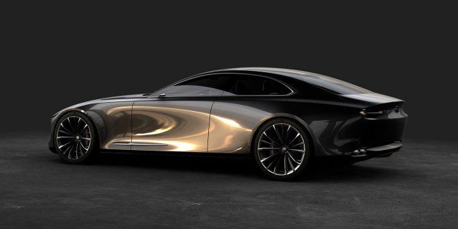 Den er stilren, konseptmodellen Mazda Vision Coupé. (Alle foto: Mazda)
