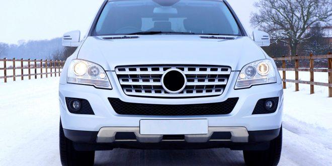 Snøstrom i England skapte trøbbel for de med SUV'er. (Arkivfoto)