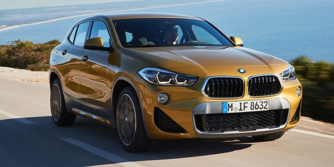 BMW selger som aldri før. Her X2-modellen. (Foto: BMW)
