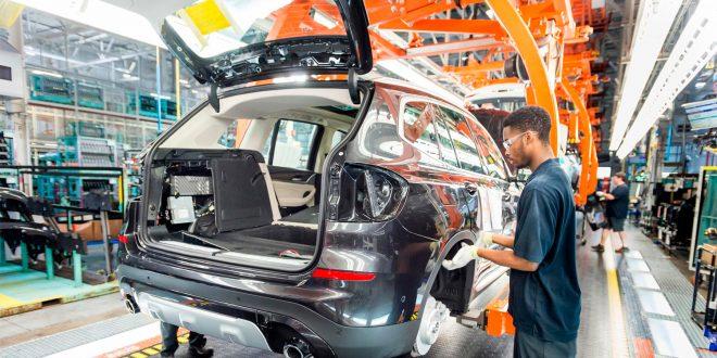 BMWs fabrikk i Spartanburg i Sout Carolina produserer en rekke modeller. (Foto: BMW)