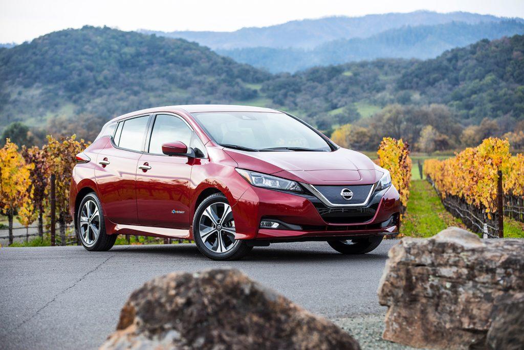 Årets grønne bil, Nisaan Leaf (2. generasjon). (Foto: Nissan)