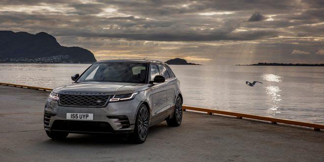 Range Rover Velar er verdens vakreste bil. Her avbildet i verdens vakreste land. (Foto: Land Rover)