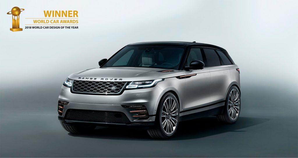 Årets vakreste bil, Range Rover Velar. (Foto: Jaguar)