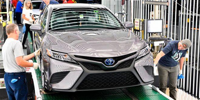 Toyota får mer enn én milliarder kroner i erstatning grunnet feilproduserte kollisjonsputer. (Foto: Toyota)