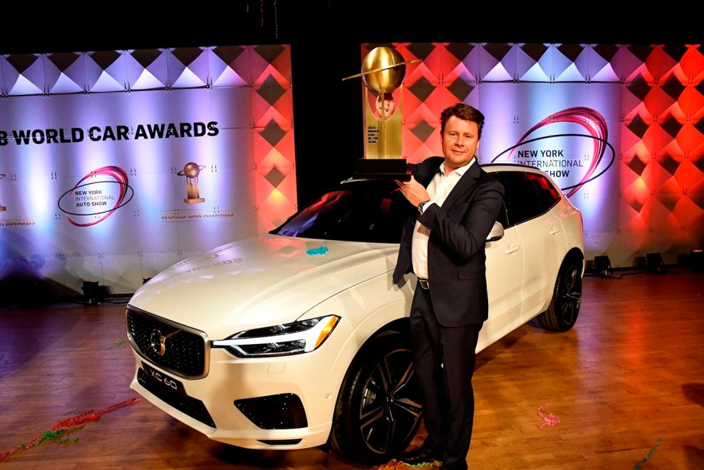 Gratulerer Volvo, dere har årets bil! (Foto: Volvo)