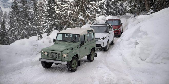 Land Rover fyller 70 år i dag. (Alle foto: Land Rover)