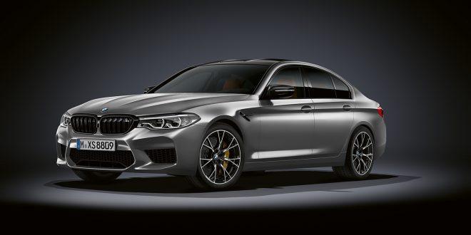 Her er en ekstremversjon av ekstremversjonen av M5, nemlig M5 Competition. (Alle foto: BMW)