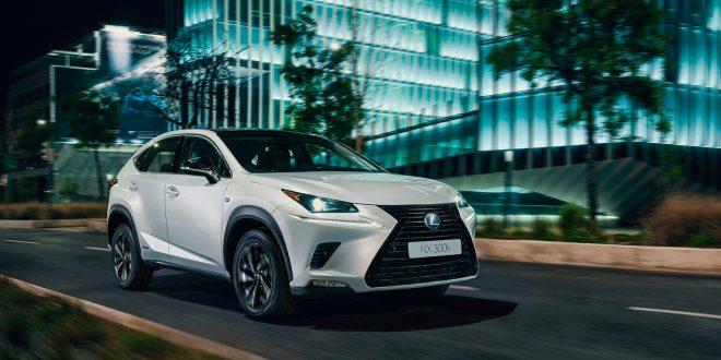 Lexus tilbyr nå NX som en sportsligere designpakke. (Alle foto: Lexus)