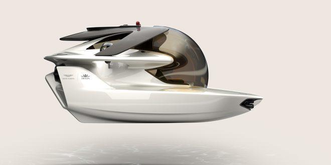 Aston Martin har designet en ubåt som skal selges til private. (Alle foto: Aston Martin)
