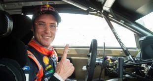 Tbhierry Neuville vant Rally Italia med fattige sju tiendedeler. (Foto: Red Bull)