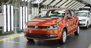 Her er en Volkswagen Polo produsert i India. VW solgte 1.580 slike i India i mai. (Foto: VW)