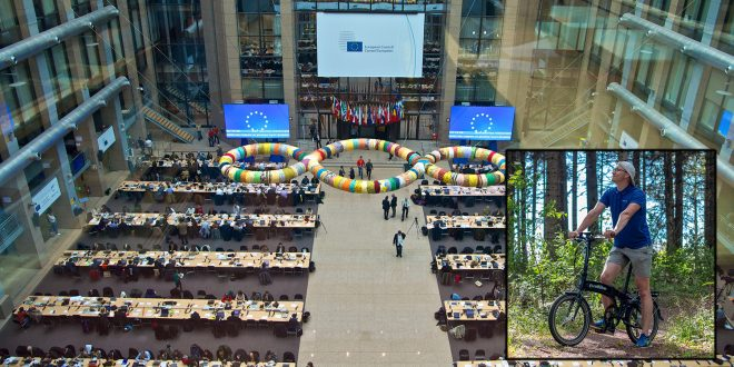 EU innfører straffetoll på elsykler fra Kina. (Foto: EU/Evobike)